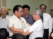 Le leader du PCV à la rencontre des électeurs