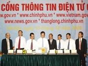 Vietnam: Inauguration du portail du gouvernement