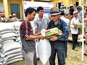 Ketsana: les Viêt kiêu continuent d'aider les sinistrés