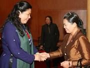 La vice-PM cambodgienne reçue par des dirigeants