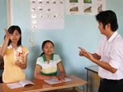 Expo sur la vie des handicapés à Hanoi