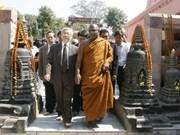 Nguyen Phu Trong visite Bouddha Gaya et Bangalore