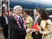 Le président de l'AN débute sa visite en Indonésie