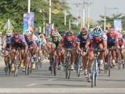Cyclisme : départ de la course BTV 2010