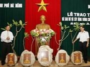 Cadeaux de Truong Sa pour Nha Trang et Da Nang