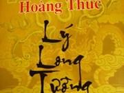 Publication d'un roman sur le prince Ly Long Tuong