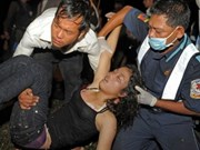 Cambodge: aide de HCMV aux victimes de l'incident de la Fête de l'eau