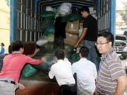 Dons d'ambassades étrangères aux sinistrés du Centre