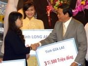 Plus de 6.300 milliards de dongs collectés pour les pauvres