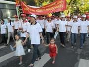 """La marche """"Lawrence S.Ting"""" pour les pauvres"""