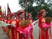 Phu Tho: la Fête du temple des rois fondateurs Hung pour avril