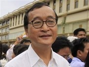 Cambodge: confirmation de la condamnation de Sam Rainsy
