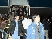 6.300 travailleurs vietnamiens rapatriés de Libye