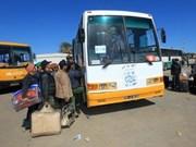 Libye : rapatriement des Vietnamiens du camp de réfugiés de Res Jedire