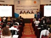 Forum de dialogue autour des politiques sur l'égalité des sexes