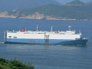 Vinashin : livraison d'un navire de grande taille