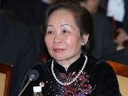 Nguyen Thi Doan au Sommet mondial des femmes