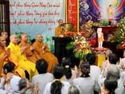 Activités en l'honneur du 2555e anniversaire de Bouddha