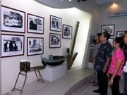 Exposition sur la piste Hô Chi Minh en mer à HCM-Ville