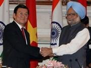 Déclaration commune Vietnam-Inde