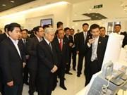 Nguyen Phu Trong termine sa visite officielle en Chine