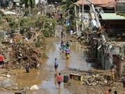 Tempête : messages de sympathie aux Philippines
