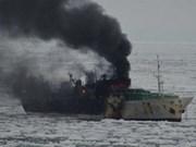 Trois Vietnamiens morts dans un incendie d'un bateau sud-coréen