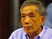 """Cambodge: perpétuité en appel pour Douch, """"jour historique"""""""