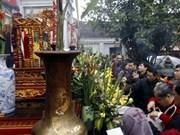 Nam Dinh : cérémonie d'ouverture des sceaux du Temple des rois Tran