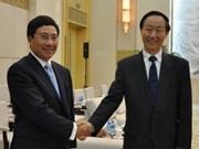 Pham Binh Minh rencontre des dirigeants chinois