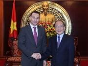 Approfondissement des relations Vietnam-Belgique