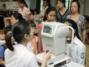 Soutien de FHF dans la lutte contre la cécité à Thai Binh