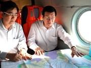 Sud: le chef de l'État inspecte les digues maritimes