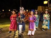 Huê : reconstitution du rite de Nam Giao