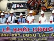 Mise en chantier du pont Sai Gon 2 à HCM-Ville
