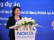 La première usine Nokia au Vietnam