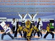 Ouverture des championnats d'Asie de Taekwondo