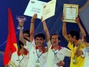 Robocon : le 1er prix pour l'Université Lac Hong