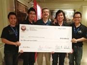 Quatre étudiants vietnamiens remportent la Cornell Cup USA
