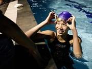 La nageuse Anh Vien en forme olympique