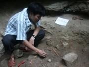 Découverte d'un ensemble de tombes préhistoriques