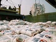 Baisse des exportations de riz au premier semestre