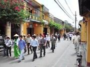 Hoi An accueille de nombreux touristes étrangers