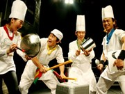 Nanta, les cuistots en délire font leur show au Vietnam