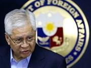 Sans Communiqué conjoint, les Philippines regrettent