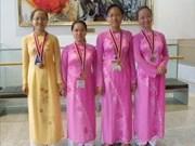 Olympiades de biologie : 4 médailles pour le Vietnam