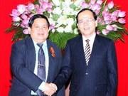 Vietnam-Laos: resserrement de la coopération dans le syndicalisme
