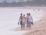 Afflux de touristes étrangers à Khanh Hoa