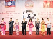"""Ouverture de l'exposition ''Liens spéciaux Vietnam-Laos"""""""