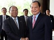 Le président du Parlement cambodgien à HCM-Ville